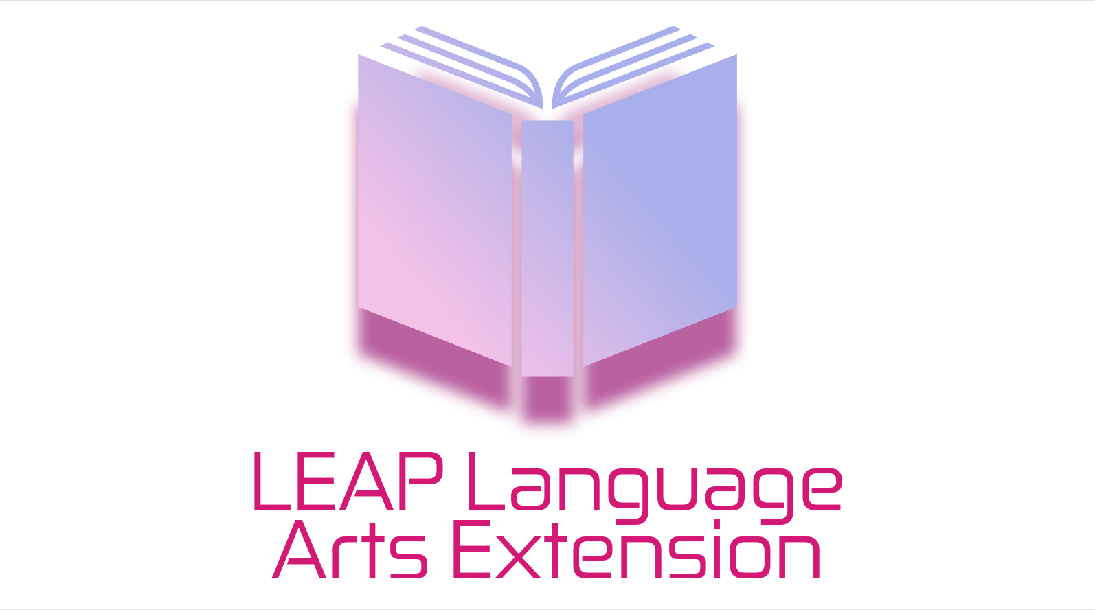 LEAP Language Arts Extension Logo