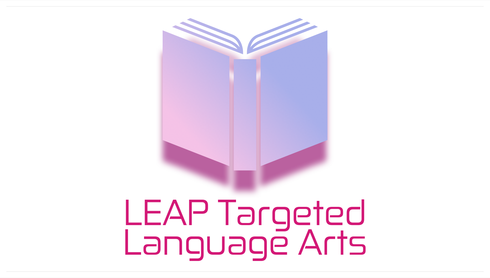 Leap Targeted Language Arts Logo