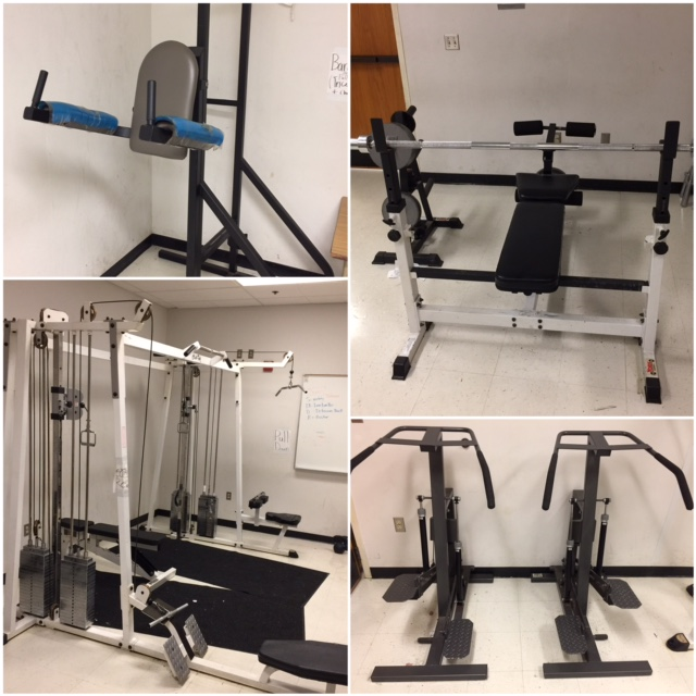 Old fitness room