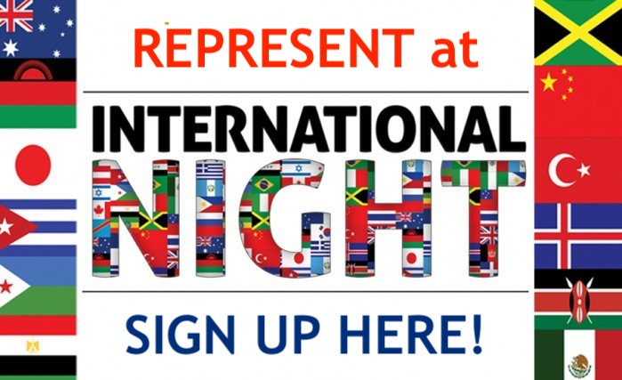 International Night Sign Up Button